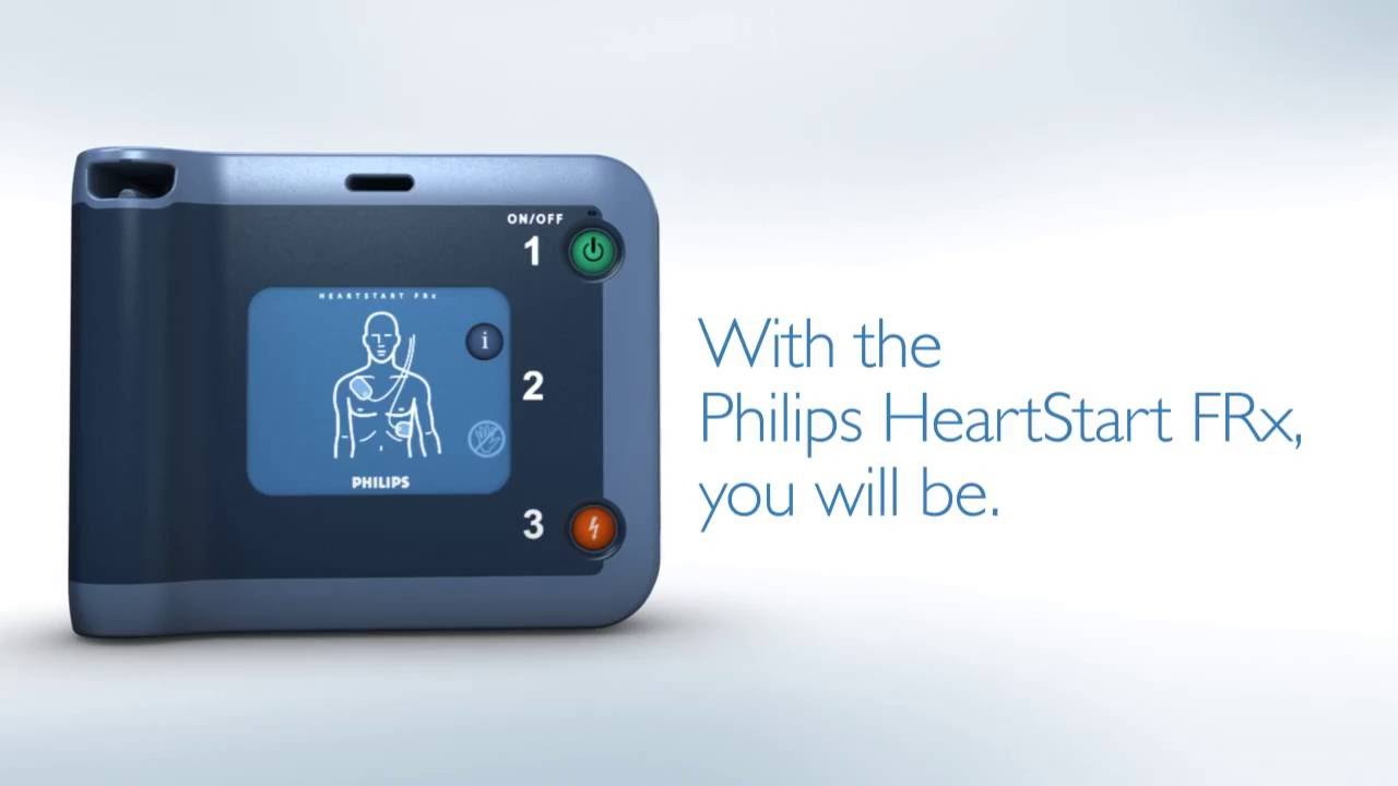 Rugged Workplace AED Package: Philips HeartStart FRx