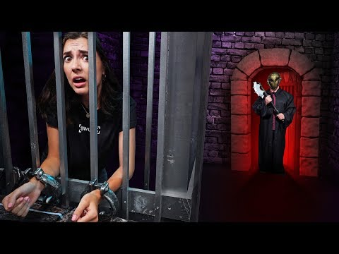 NERF Dungeon Escape Room Challenge