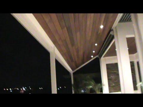 How to Build a Permanent Cover for outdoor balcony, deck or veranda