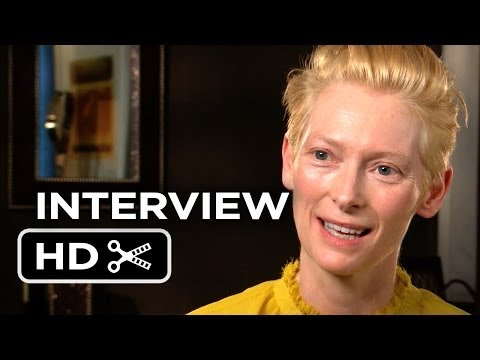 The Grand Budapest Hotel Interview - Tilda Swinton (2014) - Wes Anderson Comedy Movie HD