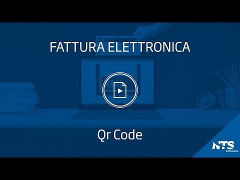 Fattura elettronica: tabelle - QR Code