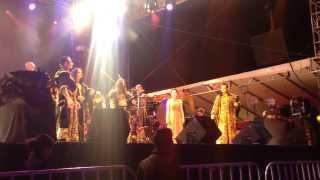 Corvus Corax - Rustica Puella live @ Saltillo, Mex.  24/10/2103