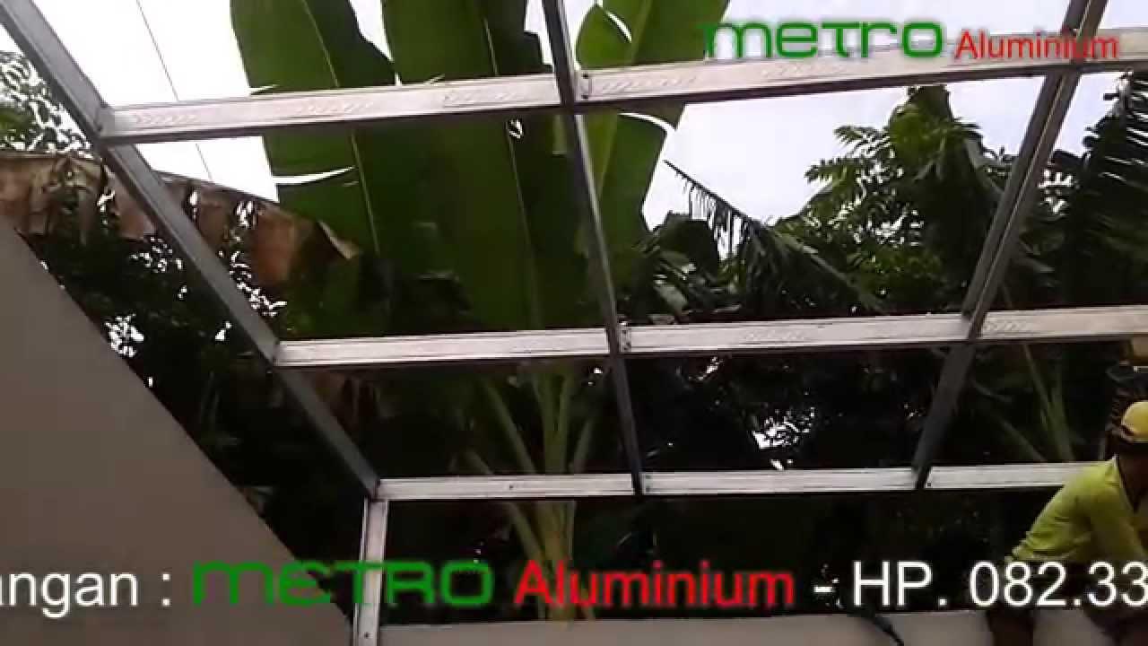 awning dari baja ringan pemasangan canopy untuk ruang jemuran probolinggo
