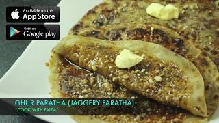 GUR KA PARATHA (jaggery) ll Urdu / Hindi Recipe *COOK WITH FAIZA*