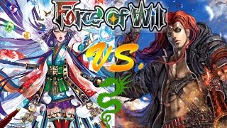 "Force of Will (TCG) Feature Match Kaguya 2.0 Spirit Sages Vs. ""Bad Cain"" Aggro"