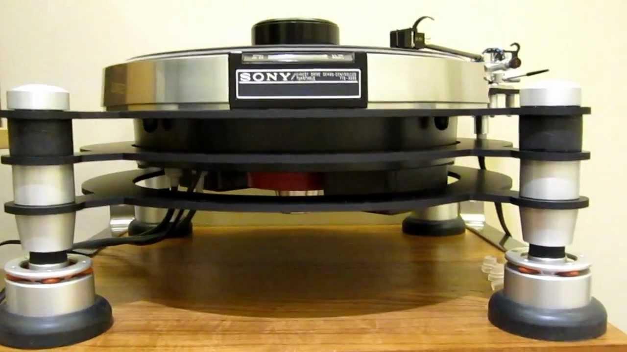 Sony Tts 4000 Infinity Black Widow Graphite Tonearm
