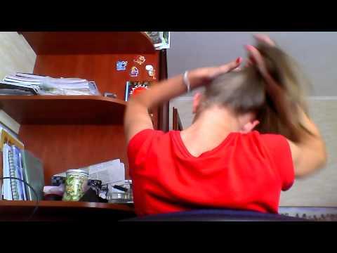 Как сделать конский хвостик