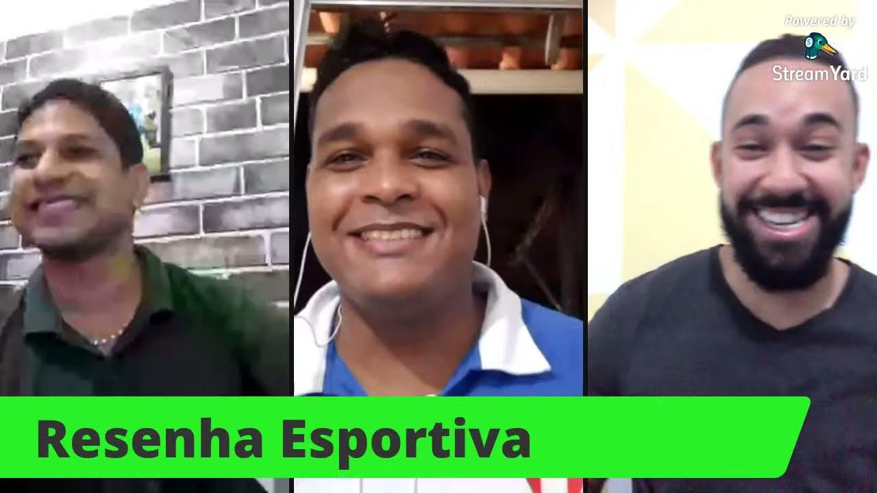 Resenha Esportiva ao vivo: confira como foi o fim de semana das equipes baianas