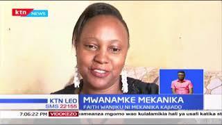 Mwanamke Mekanika: Faith Wanjiku ni mekanika Kajiado;wamiliki wa magari wanamsifia