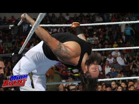Justin Gabriel vs. Bray Wyatt: WWE Main Event, Aug. 21, 2013