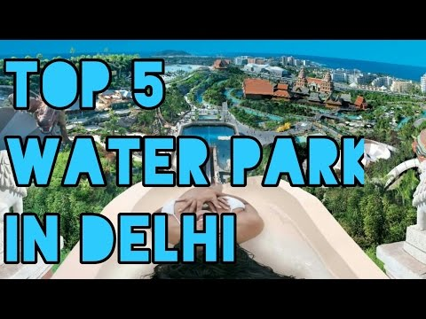 Top 5 Water Parks in Delhi-NCR