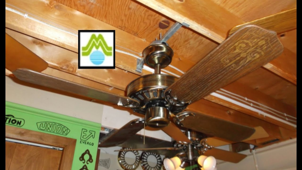 "JCPenney Moss Heirloom 42"" Ceiling Fan (HD Remake) - YouTube"