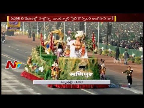 69th Republic Day Parade 2018 At Rajpath || President Ramnath Kovind || PM Narendra Modi || Part 02