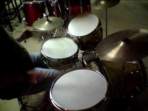 mike nigro drum solo 1949 slingerland radio kings calf skin heads youtube. Black Bedroom Furniture Sets. Home Design Ideas