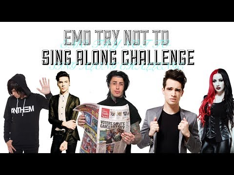 EMO/ ALTERNATIVE TRY NOT TO SING ALONG CHALLENGE [HARD]
