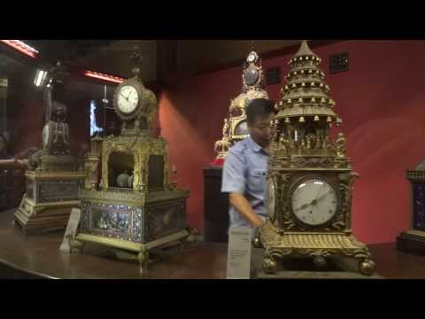 Clock Exhibition Hall demonstration, Forbidden City, Beijing, China