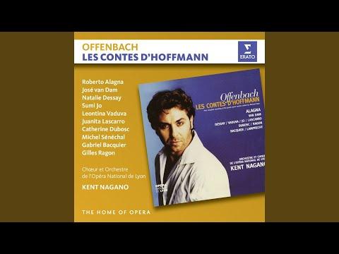 """Les Contes d'Hoffman, Act 4: """"Je n'aime pas qu'on me défie!"""" (Giulietta, Hoffmann, Nicklausse,..."""
