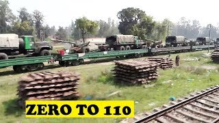 WDP4D Dehradun Shatabdi 0 To 110 Roorkee Dhandhera