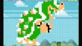 Super Paper Mario: All 8-bit Transformations