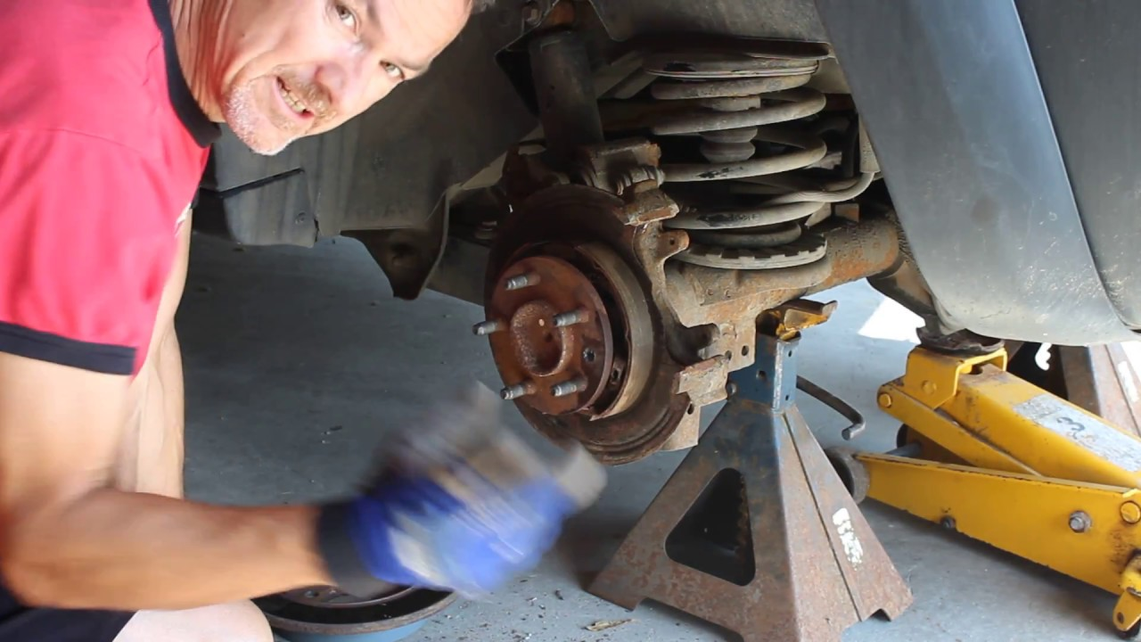 How to repair your Jeep Liberty's rear brakes  Dust shields