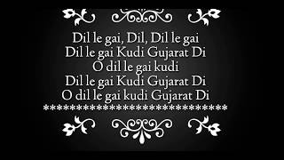 Kudi Gujarat Di Song Lyrics Sweetiee Weds NRI Jasbir Jassi Himansh Kohli, Zoya Afroz