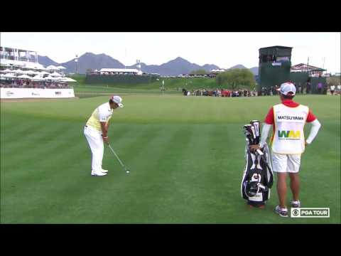 2017 Waste Management Phoenix Open Final Playoff Hole - Hideki Matsuyama vs Webb Simpson