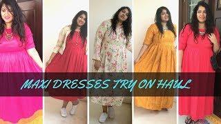 Maxi Dresses Try On Haul | Summer Sale | Priyanka Boppana