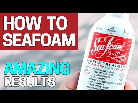 How to use Seafoam - Lawn equipment, ATV's step by step