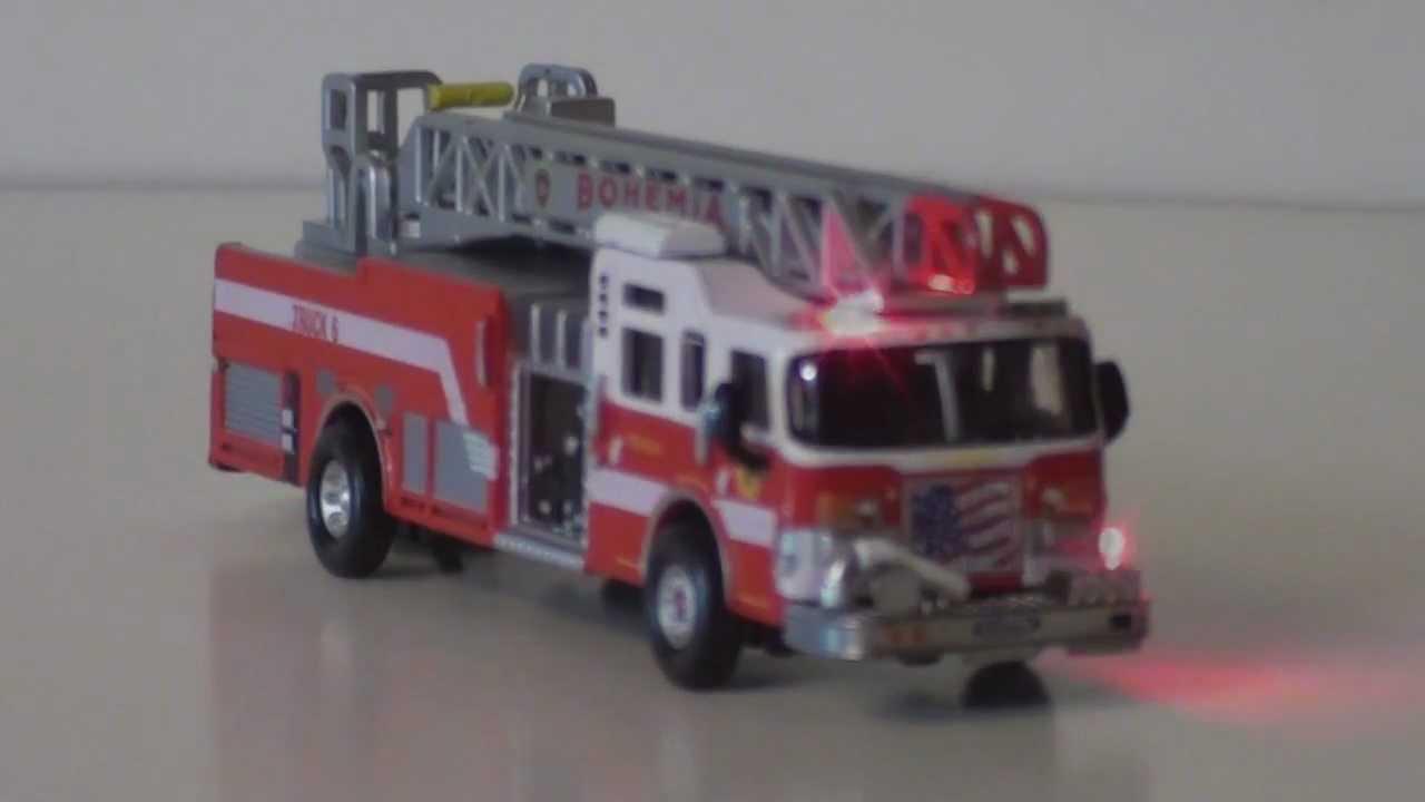 Ho Scale Fire Truck With Flashing Led Lights Doovi