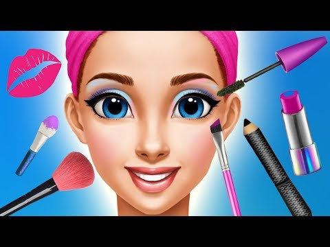 Fun Kids Care Games - Princess Makeup Dress UP Makeover Gloria Beauty Salon Kids & Girls Games