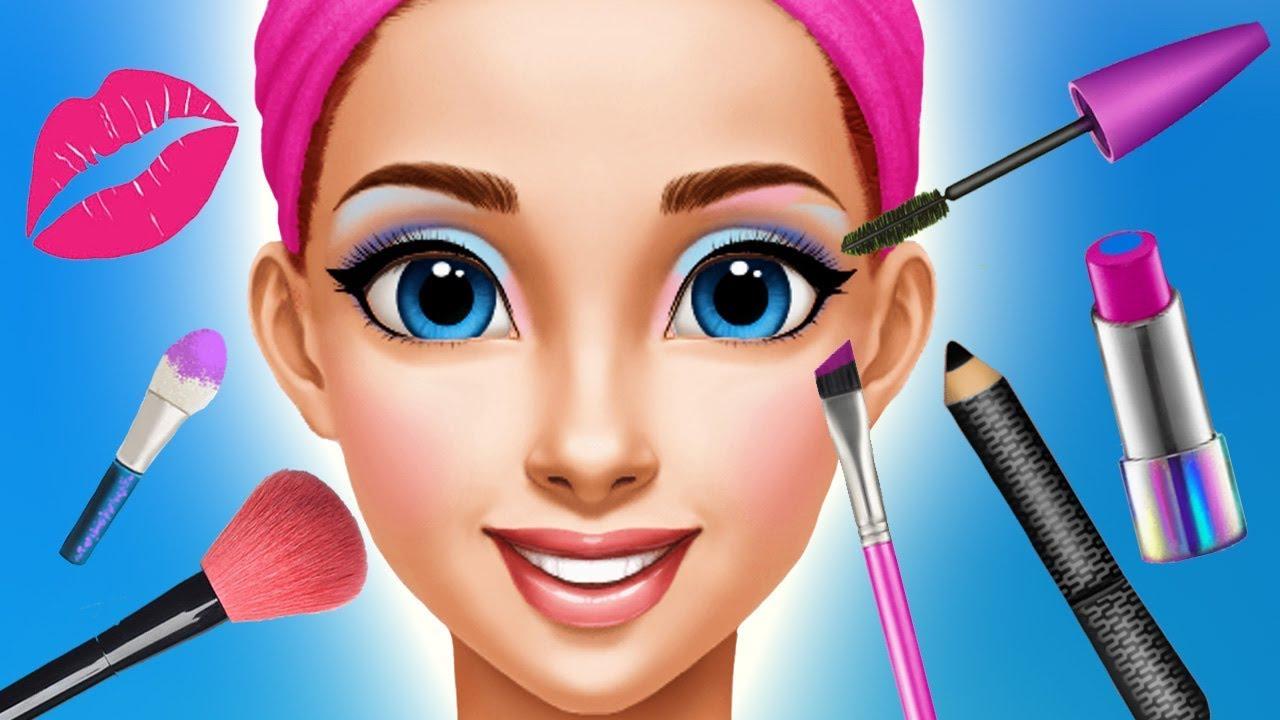 Fun Kids Care Games Princess Makeup Dress Up Makeover