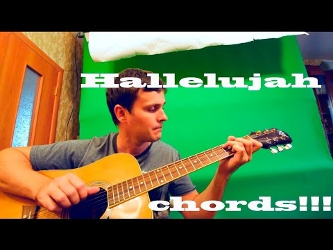 Guitar Chords Jeff Buckley Hallelujah Youtube