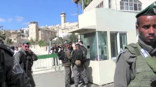 March 15, 2015 an ISM volunteer was arrested in occupied Al Khalil ...