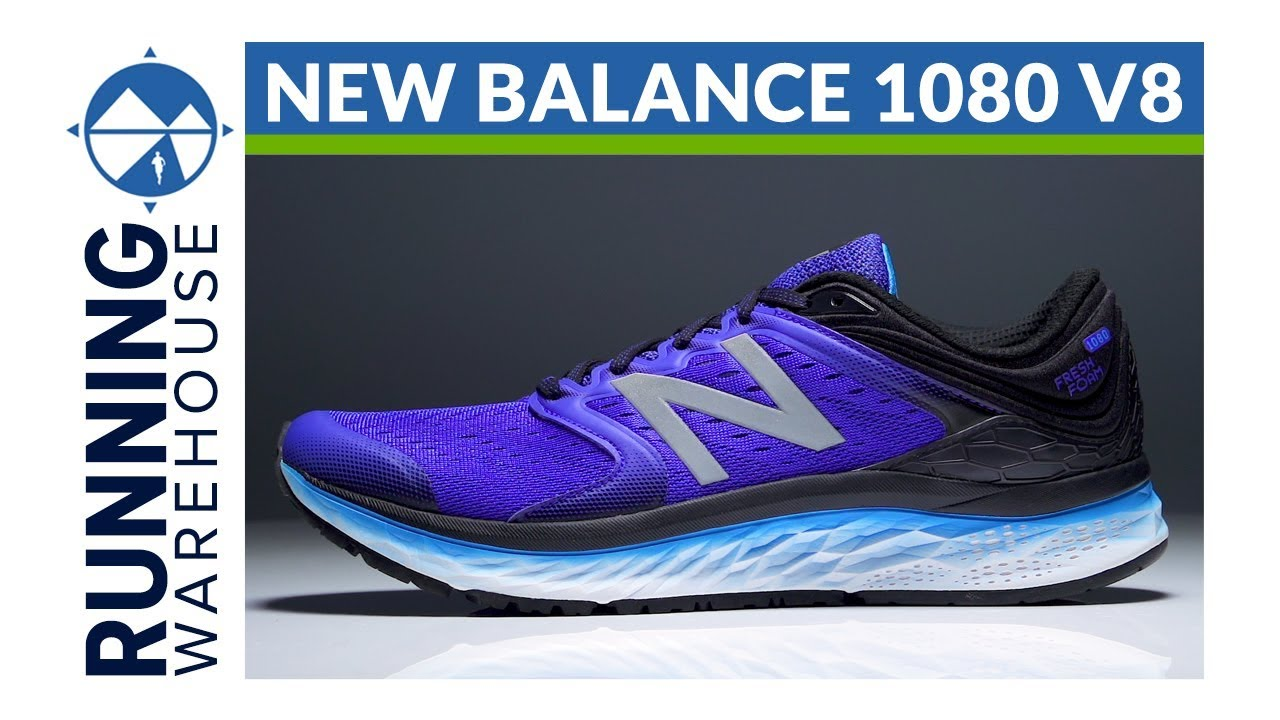 Distinguir Calendario Recomendado  New Balance Fresh Foam 1080 v8 - YouTube