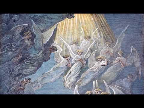 Il meraviglioso canto degli Angeli udito in chiesa durante la santa cena del vino e del pane