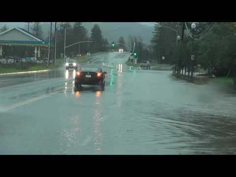 Sonoma County California Flooding - January 8th, 2017