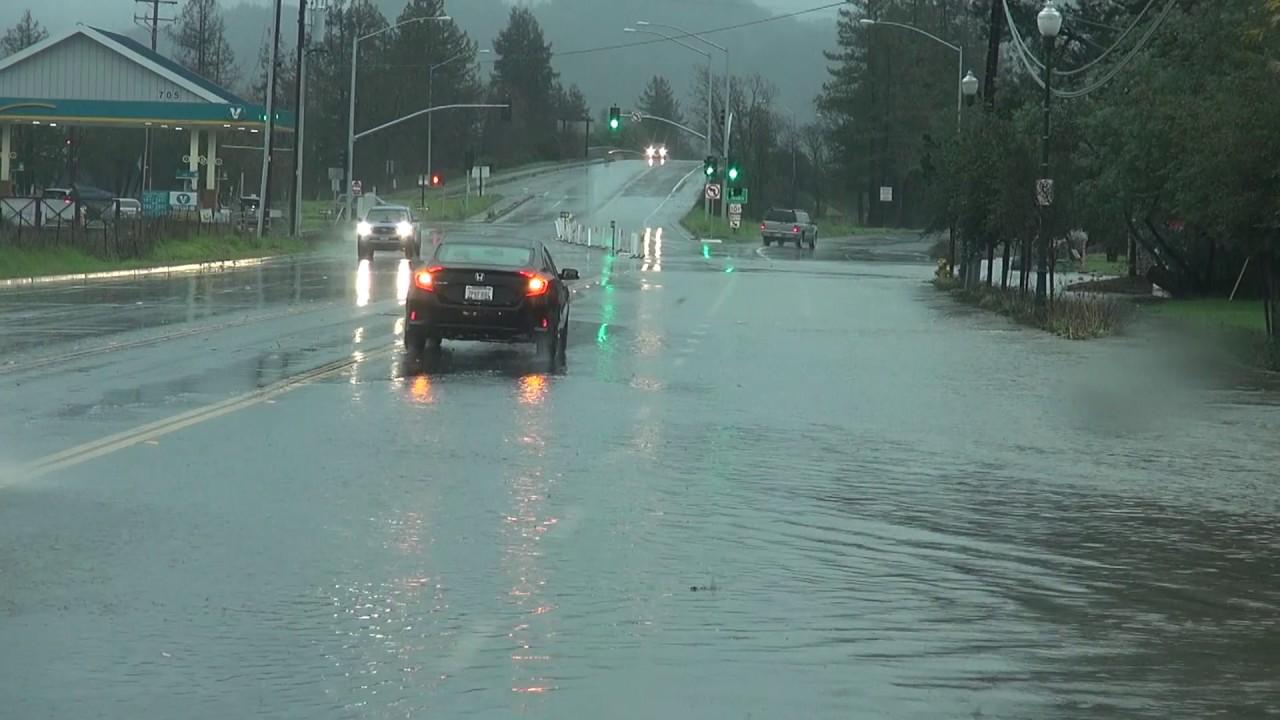 Sonoma County California Flooding - January 8th, 2017 ...