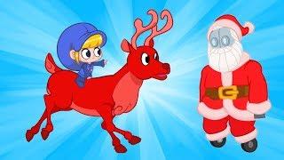 Morphle   Robot Santa   Kids Videos   Learning for Kids   Christmas for Kids