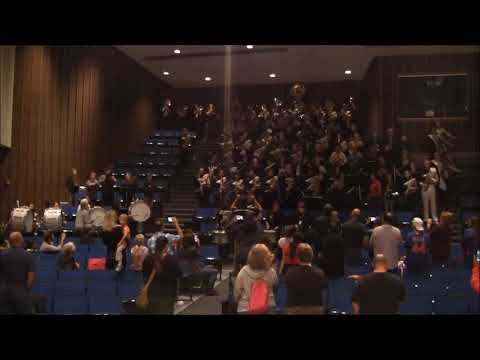 Streamwood High School Band Day Performance 2017