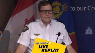 LIVE Replay: Homicide update