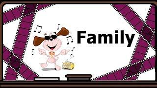 Видеоурок по английскому языку: Стихотворение Family