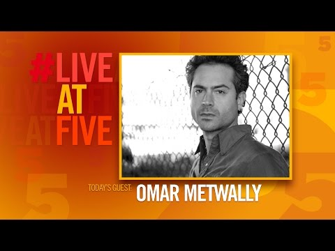 Broadway.com LiveatFive with Omar Metwally of HOW TO TRANSCEND A HAPPY MARRIAGE