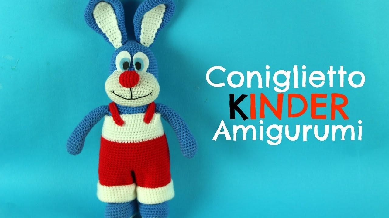 Coniglietto Kinder Amigurumi World Of Amigurumi Youtube