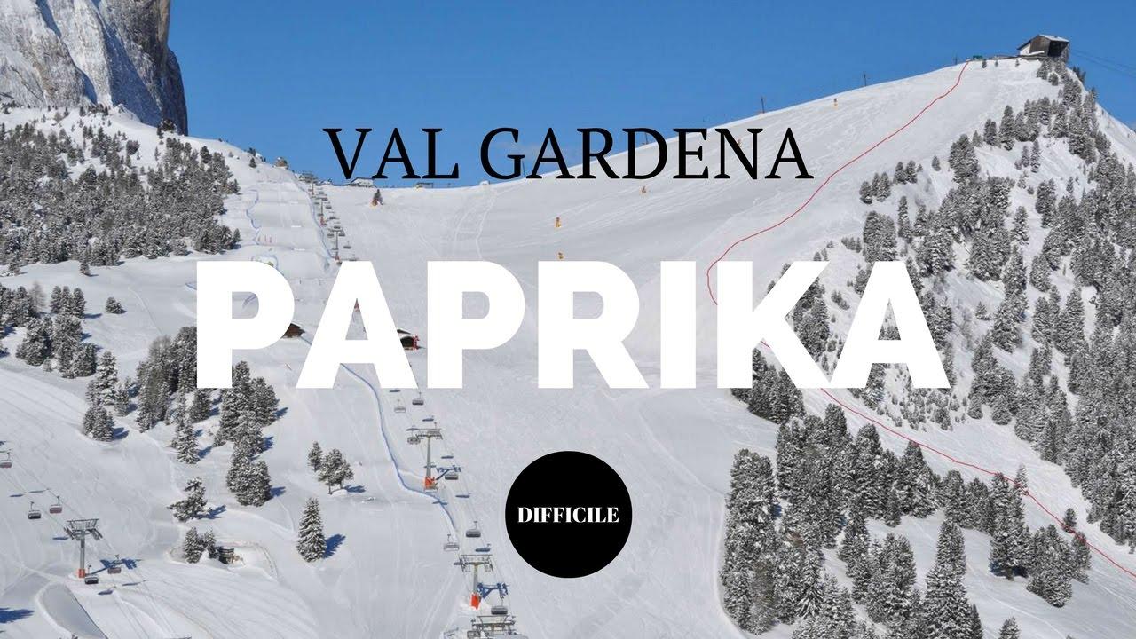 Val gardena: nuova pista nera paprika