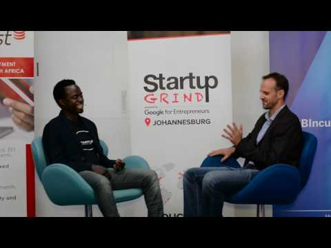 Mike Quinn (Zoona) at Startup Grind Johannesburg