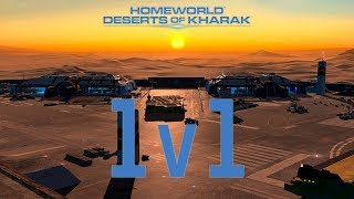 Deserts of Kharak 1v1:  Desperate Offensive.