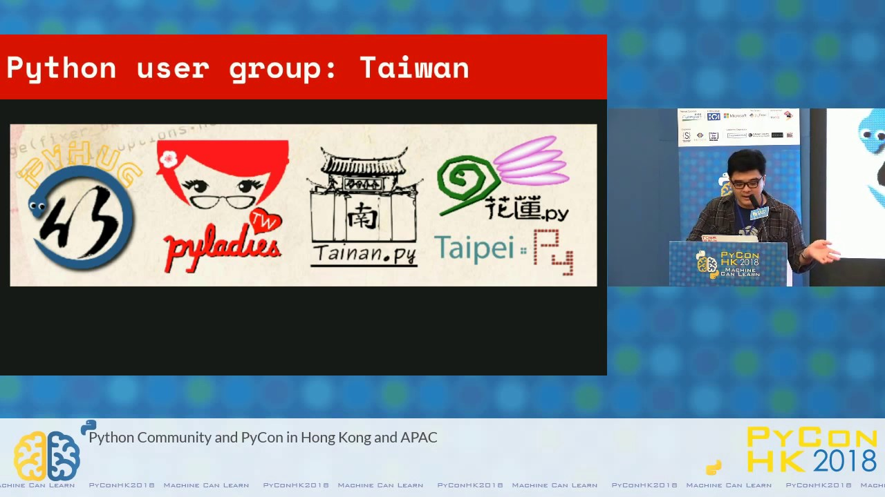 Image from Python Community and PyCon in Hong Kong and APAC