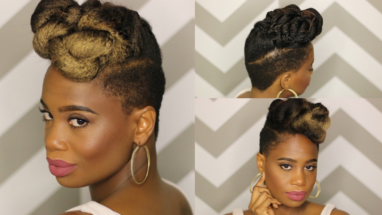 Janelle Monae Inspired Updo Using Clip Ins Video Black