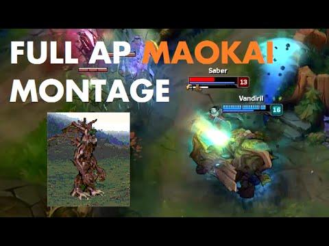 Tuyển tập Maokai full AP chất lừ của Vandiril