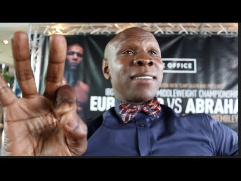 CHRIS EUBANK SNR RAW! - ON KELL BROOK 'QUITTING', DeGALE IS 'RUNNING SCARED', ABRAHAM & GGG-CANELO